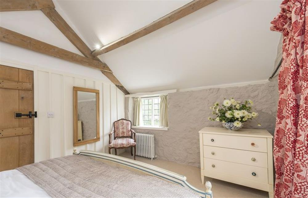 First floor: Master bedroom with  king size bed and oak beams (photo 2) at The Cider Mill, Motcombe