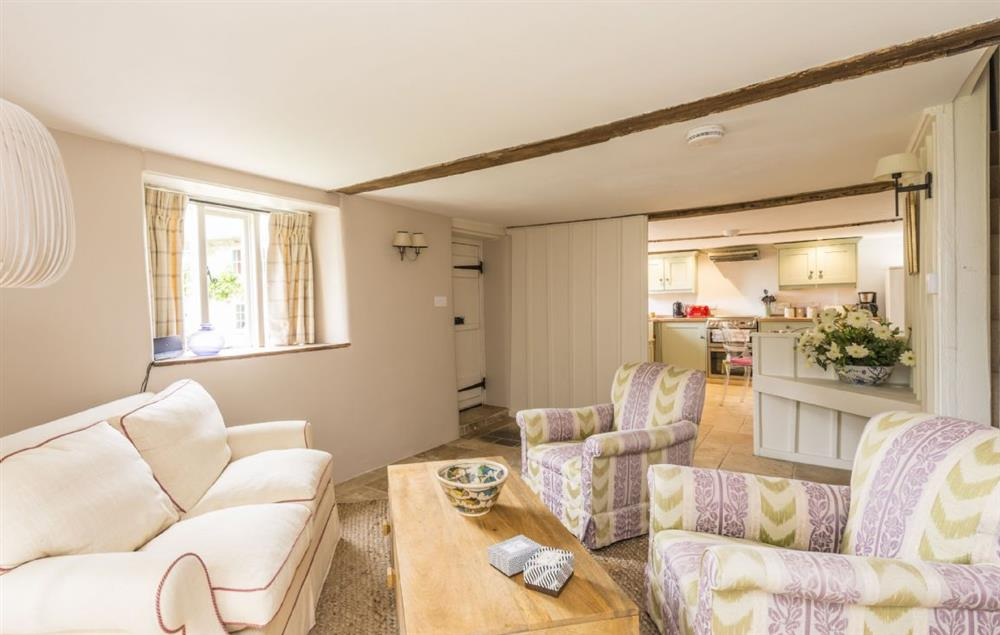 Ground floor: Sitting room looking through to kitchen at The Cider Mill, Motcombe