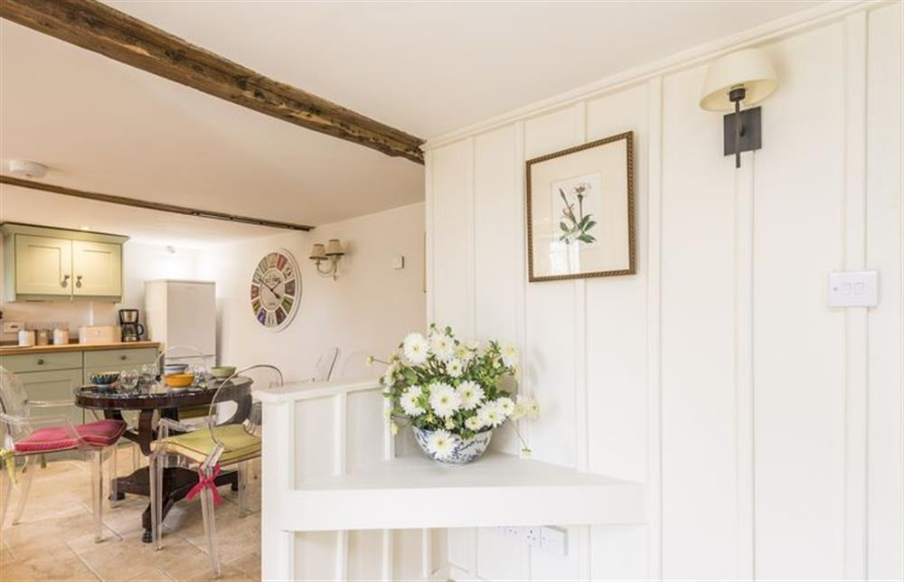 Ground floor: Underfloor heating throughout the kitchen, dining room and sitting room at The Cider Mill, Motcombe