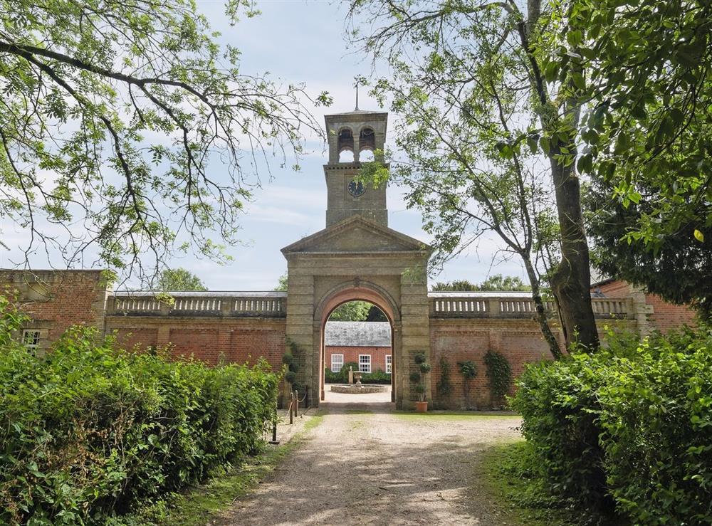Exterior at The Clock House in Haveringland, Nr Aylsham, Norfolk., Great Britain
