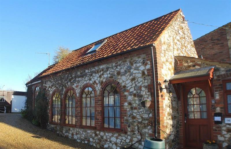 Outside The Coach House at The Coach House (Sedgeford), Sedgeford near Hunstanton, Norfolk