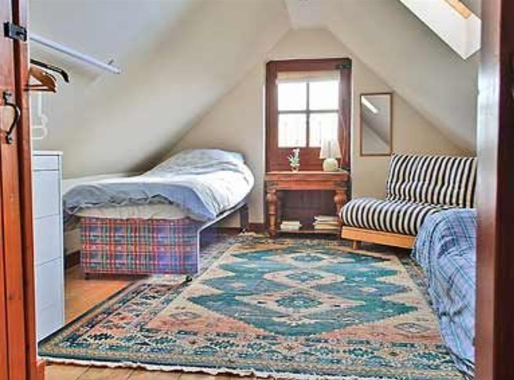 Bedroom at The Coach House in Bromeswell, Woodbridge, Suffolk