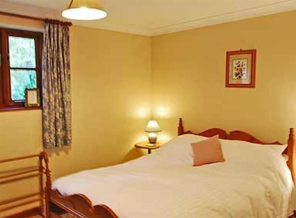 Double bedroom at The Coach House in Bromeswell, Woodbridge, Suffolk