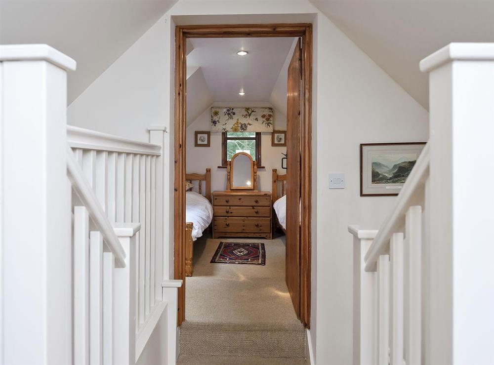 Twin bedroom at The Coach House in Bromeswell, Woodbridge, Suffolk