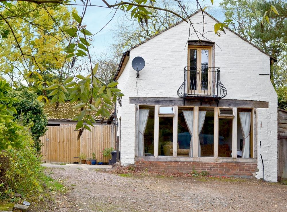 Exterior at The Coach House in Castlemorton, near Malvern, Worcestershire