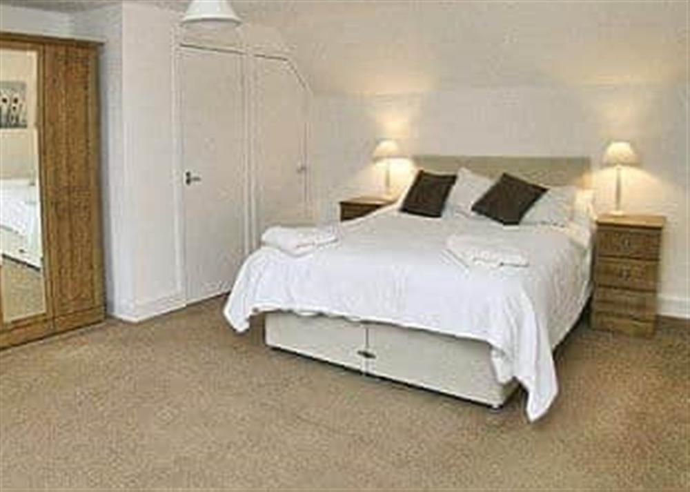 Double bedroom at The Coach House in Girvan, Ayrshire., Great Britain