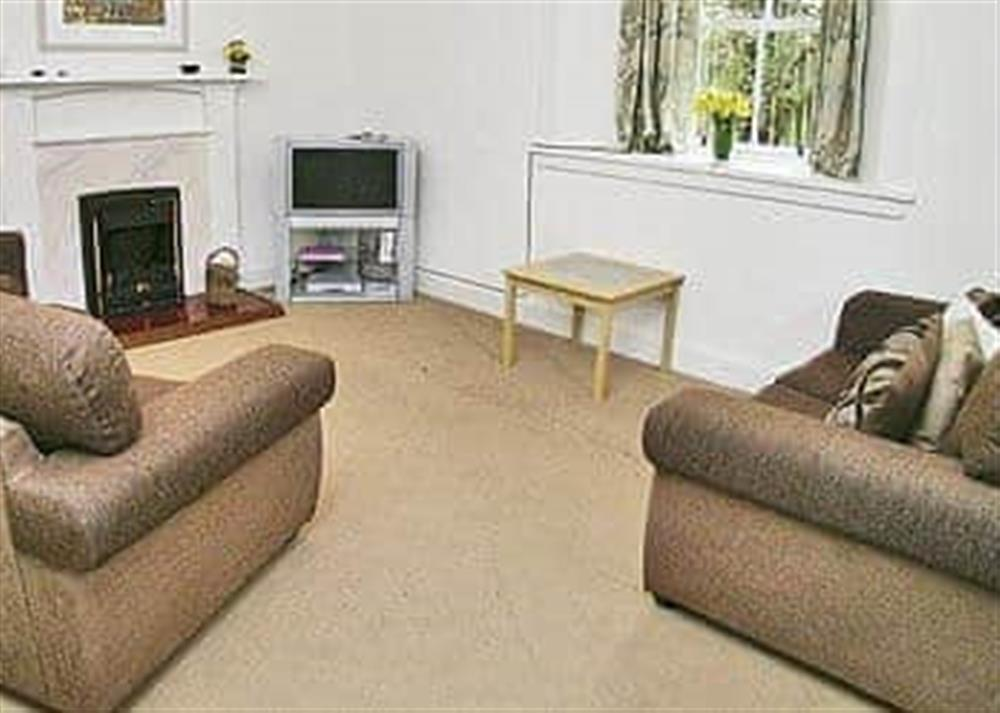 Living room at The Coach House in Girvan, Ayrshire., Great Britain
