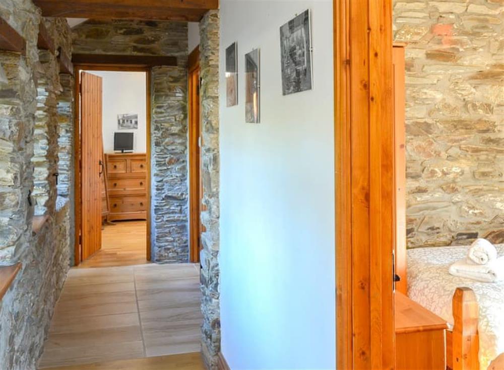 Hallway at The Coach House in Gulworthy, near Tavistock, Devon