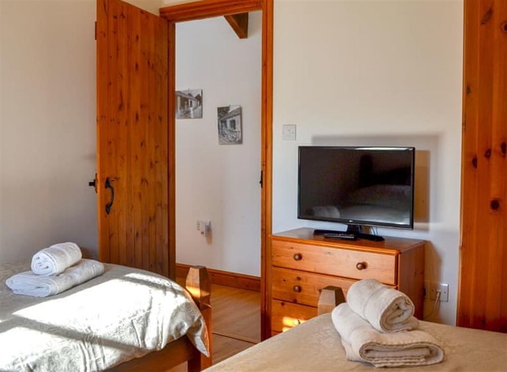 Twin bedroom (photo 2) at The Coach House in Gulworthy, near Tavistock, Devon