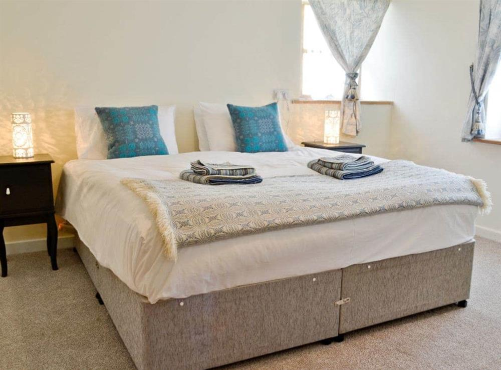 Double bedroom at The Coach House in Llangoedmor, Nr Cardigan, Dyfed., Great Britain