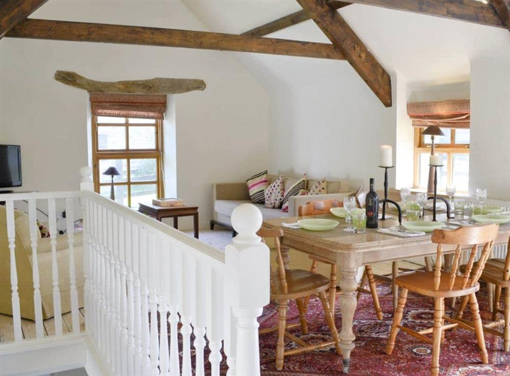 Open plan living/dining room/kitchen at The Coach House in Llangoedmor, Nr Cardigan, Dyfed., Great Britain