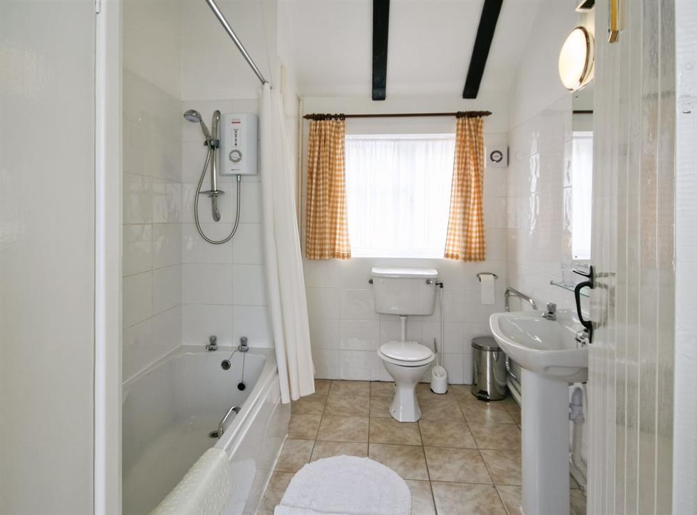 Bathroom at The Coach House in Lowestoft, Suffolk