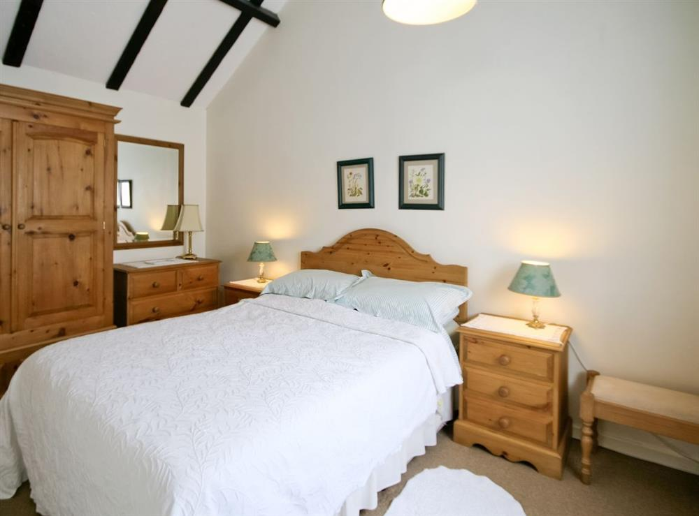 Double bedroom at The Coach House in Lowestoft, Suffolk