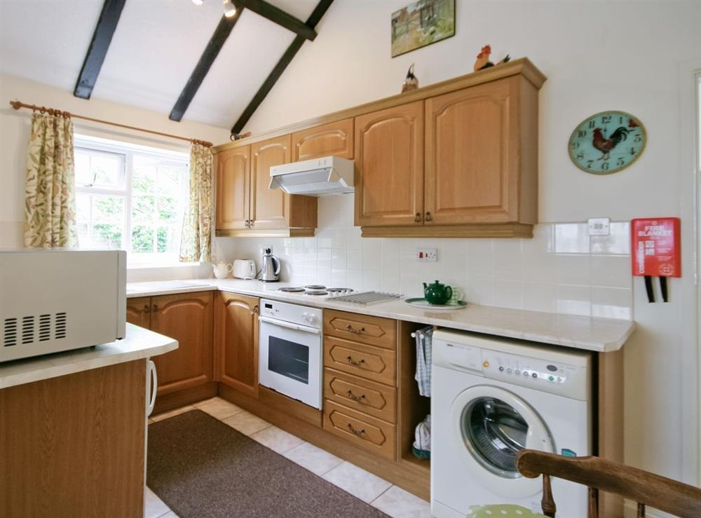 Kitchen/diner at The Coach House in Lowestoft, Suffolk