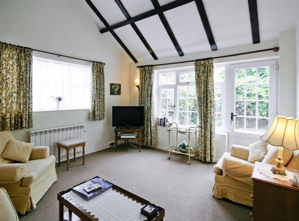 Living room at The Coach House in Lowestoft, Suffolk