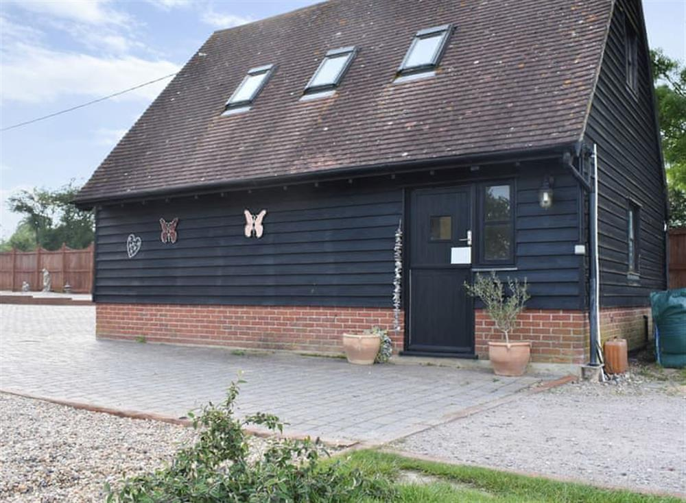 Charming barn conversion at The Coach House in Peldon, near Colchester, Essex