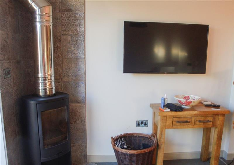 This is the living room at The Coach House St Crispin, Cowbridge