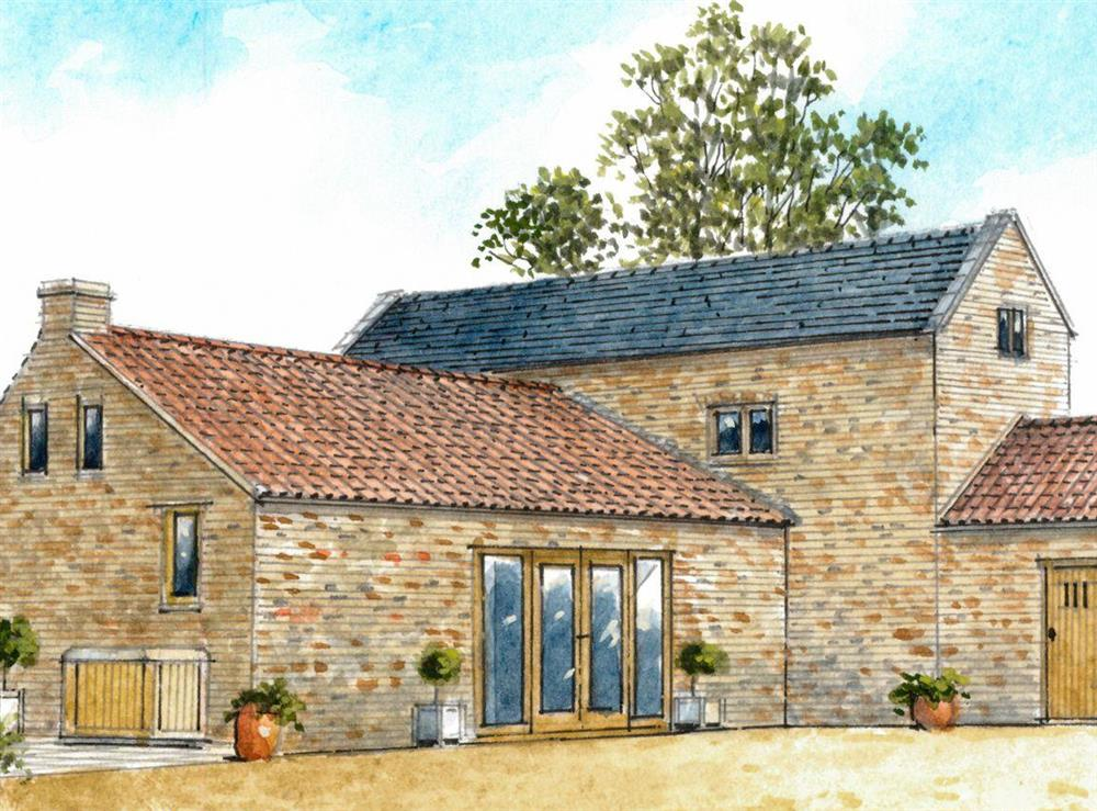 Artist's Impression at The Coach House in Three Holes, near Wisbech, Norfolk
