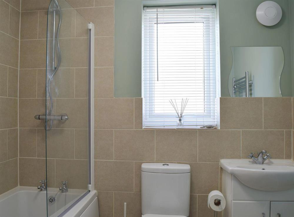 Bathroom at The Coastal Cottage in Kessingland, Suffolk, England