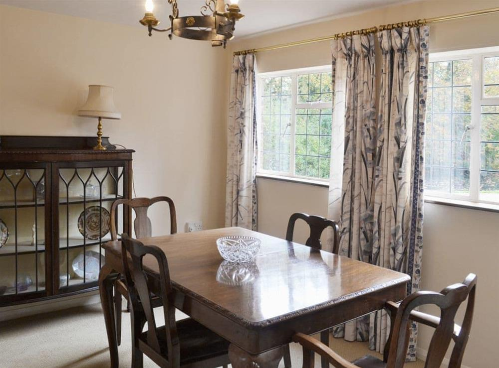 Dining room at The Cottage in Fressingfield, Norfolk