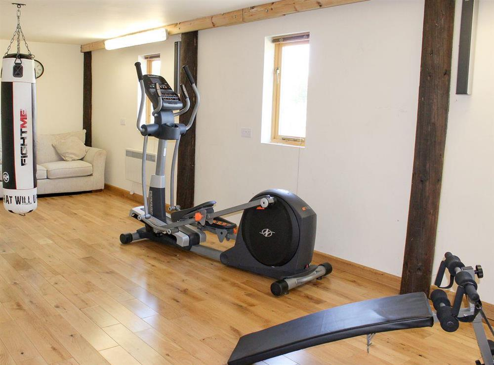 Gym available for guests use