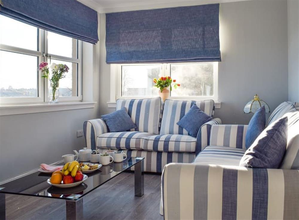 Welcoming living room at Sea View Apartment,