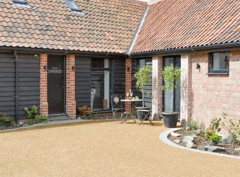 Attractive holiday home at The Cowshed in Horning, near Wroxham, Norfolk