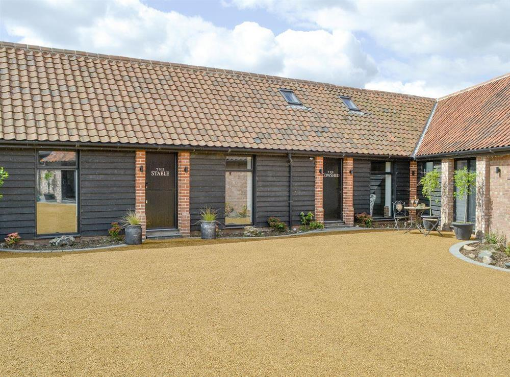 Lovely holiday homes at The Cowshed in Horning, near Wroxham, Norfolk