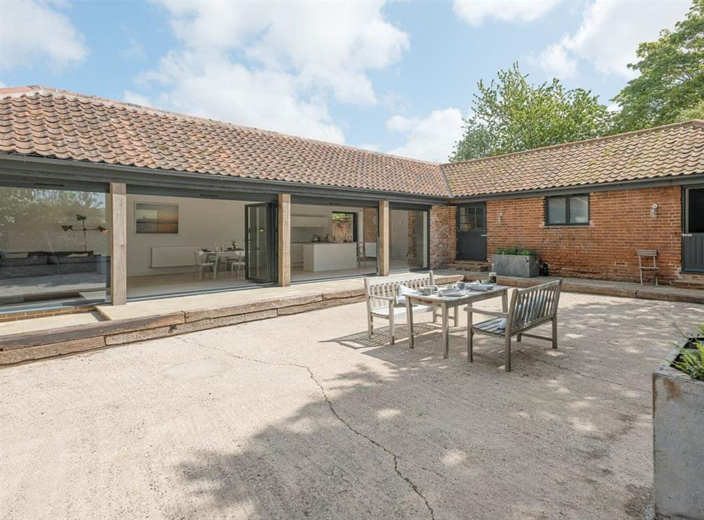Stunning detached single storey barn conversion at The Cowshed in Reepham, Norfolk