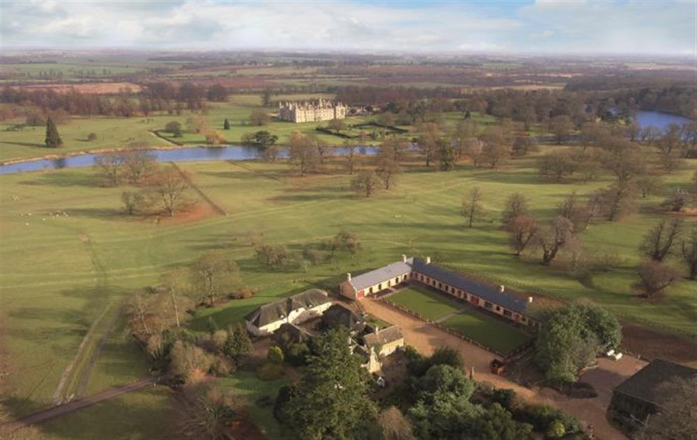 The Dairy sits on the Burghley Estate in the heart of Capability Brown parkland, landscaped during the 1760's.