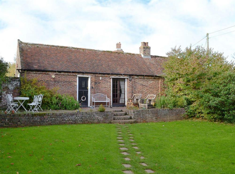 Charming property with lawned garden at The Bothy,