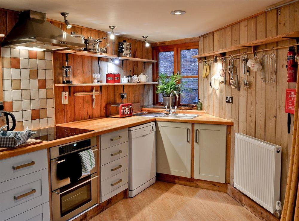 Kitchen at The Drying House in Ledbury, Herefordshire