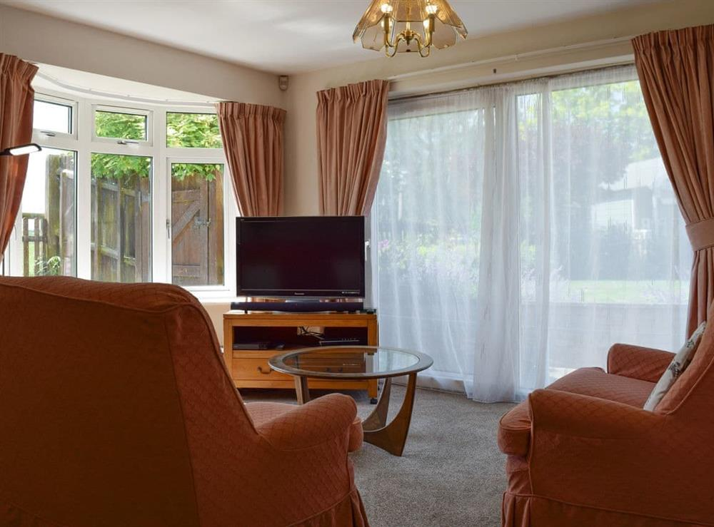 Living area at The East Wing in Sutton Bassett, Rutland, Northamptonshire
