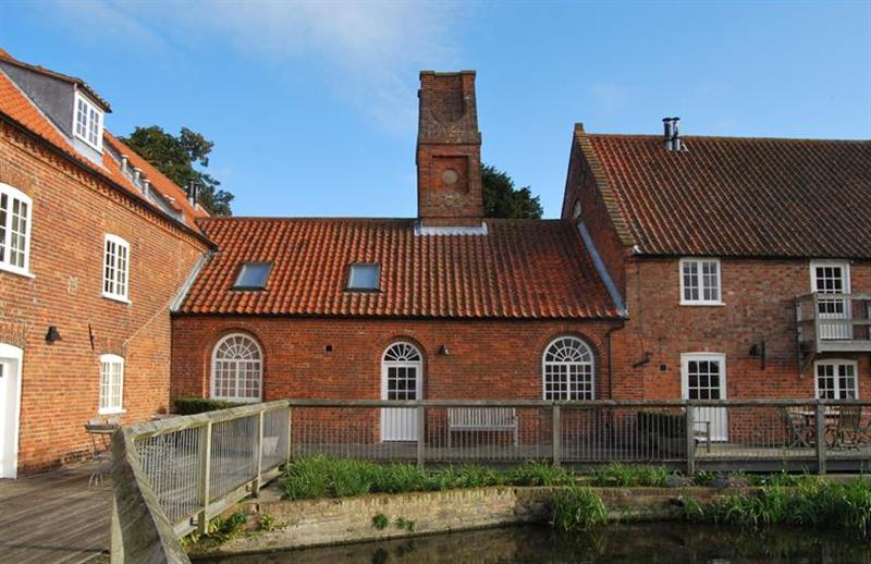 Outside The Engine House BOS at The Engine House BOS, Burnham Overy Staithe near Kings Lynn, Norfolk