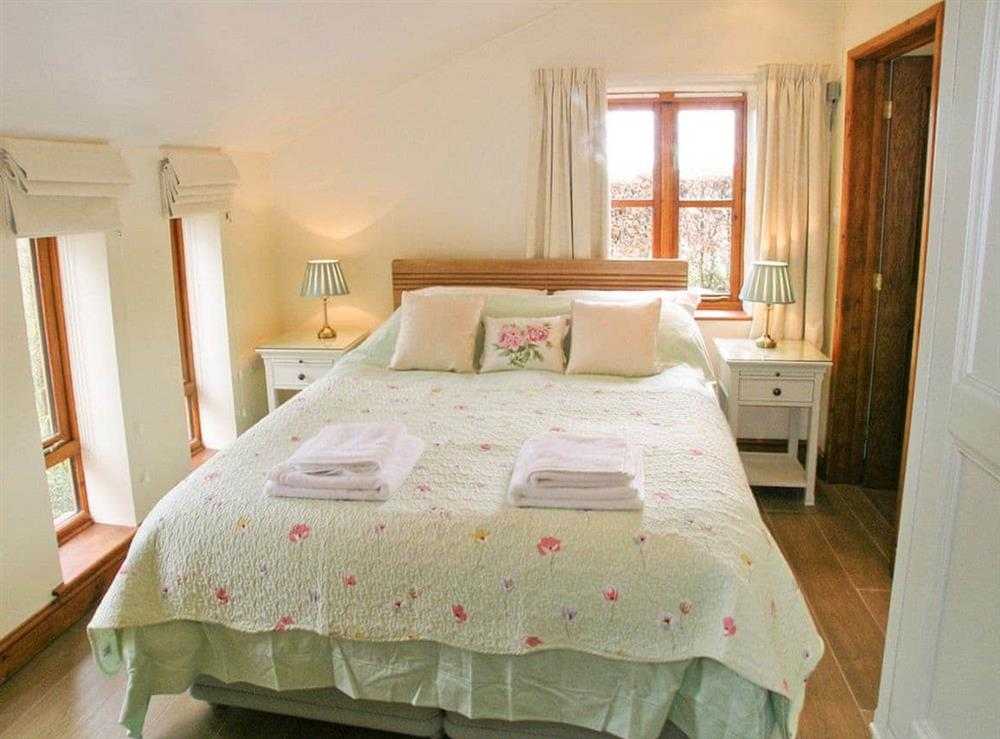 Double bedroom at The Garden Apartment in Neatishead, near Norwich, Norfolk