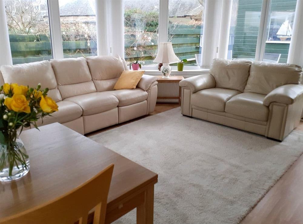 Sitting room at The Garden Flat in Nairn, Loch Ness and Nairn, Morayshire