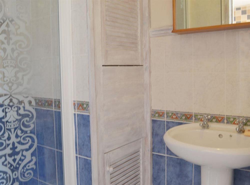 Bathroom at The Garden Room in Brixham, Devon