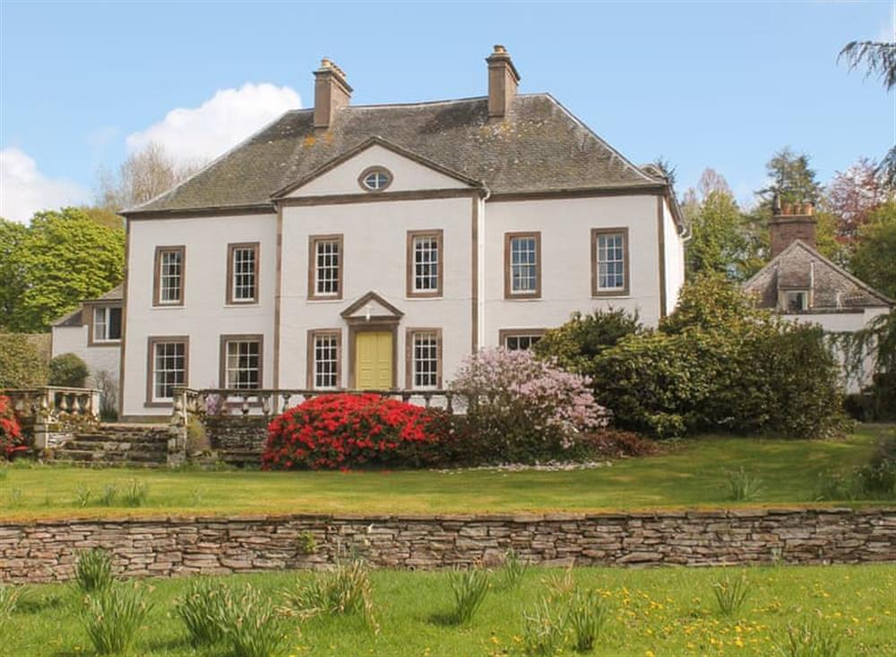 Magnificent holiday location at The Garden Suite in Pitscandly, near Forfar, Angus