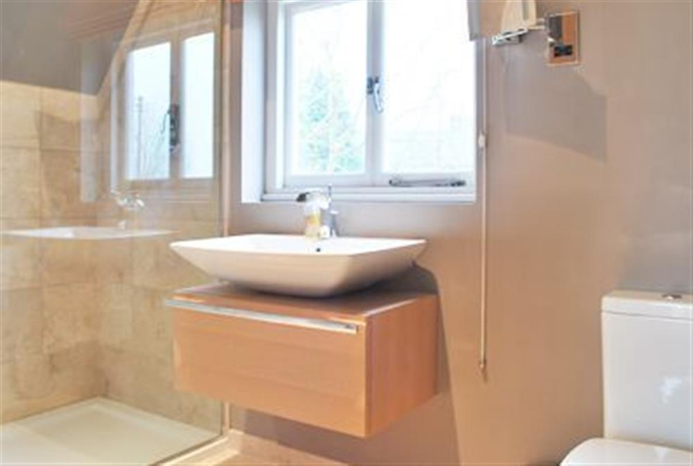 Bathroom at The Glass Room in Ardleigh Heath, near Colchester, Essex