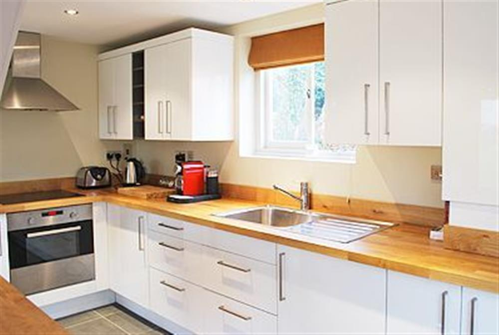 Kitchen at The Glass Room in Ardleigh Heath, near Colchester, Essex
