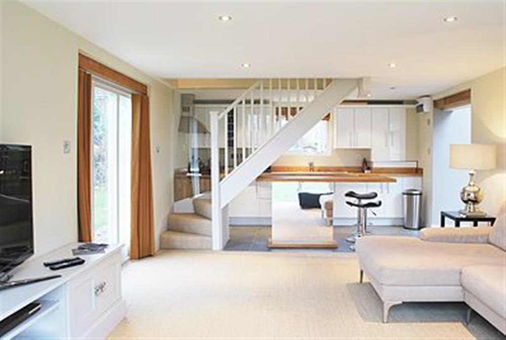 Open plan living/dining room/kitchen at The Glass Room in Ardleigh Heath, near Colchester, Essex