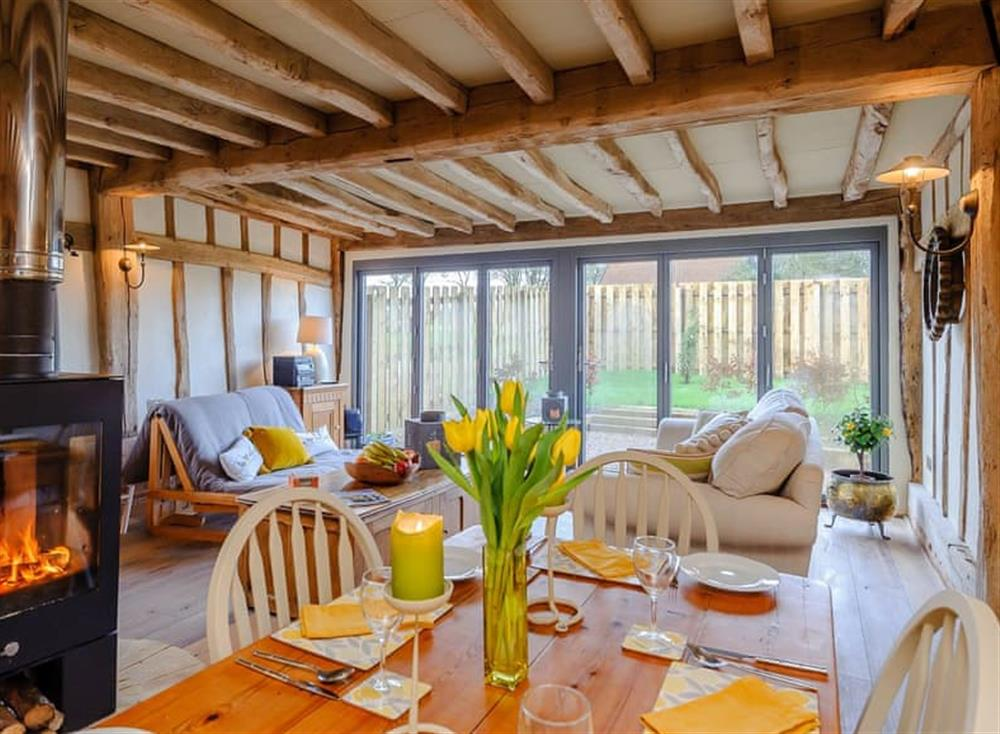 Dining Area at The Granary in Milden, near Bury St Edmunds, England