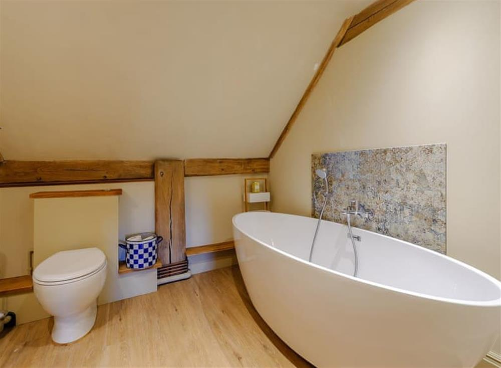 En-suite at The Granary in Milden, near Bury St Edmunds, England