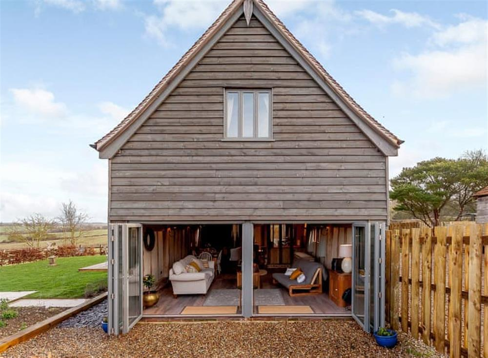 Exterior at The Granary in Milden, near Bury St Edmunds, England