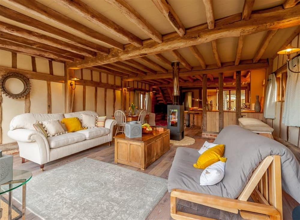 Living area (photo 4) at The Granary in Milden, near Bury St Edmunds, England