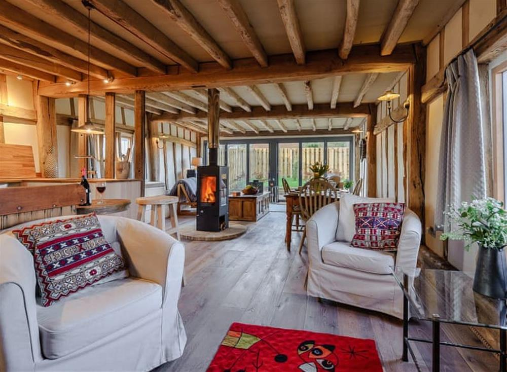 Open plan living space (photo 2) at The Granary in Milden, near Bury St Edmunds, England