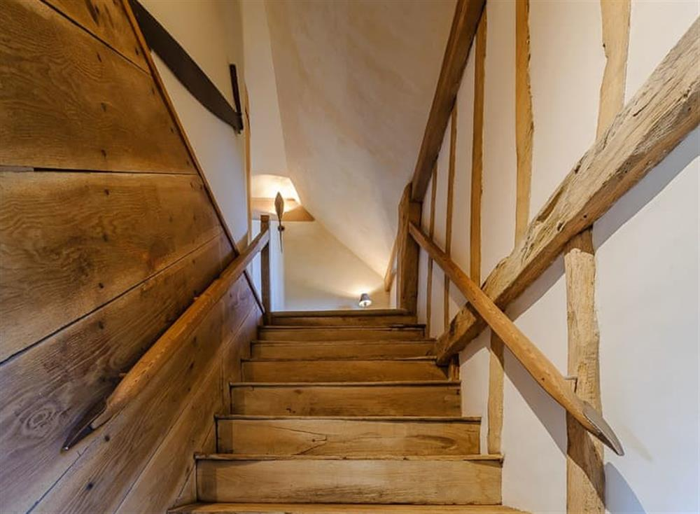 Stairs at The Granary in Milden, near Bury St Edmunds, England