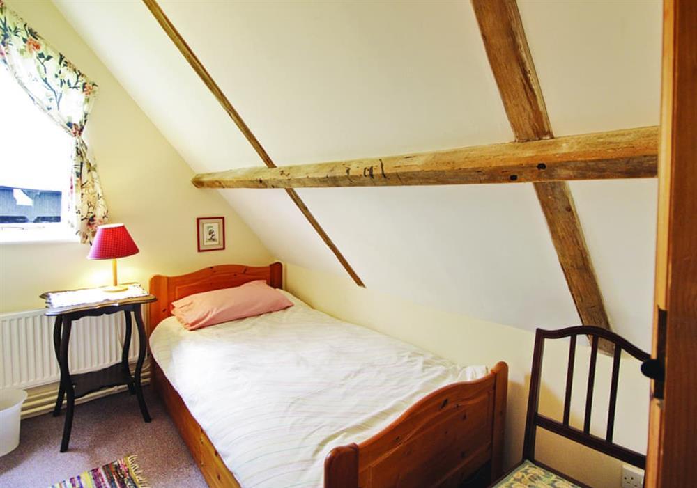 The Granary single bedroom at The Granary in Woodbridge, Suffolk