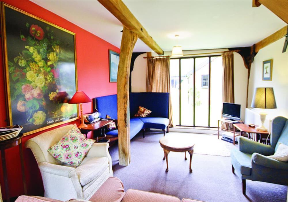 The Granary sitting room at The Granary in Woodbridge, Suffolk