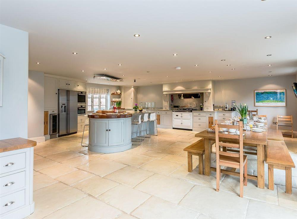 Fantastic, large, spacious kitchen at The Grange Farmhouse in Sculthorpe, Norfolk